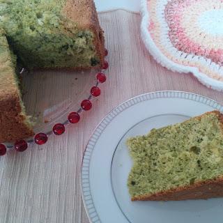 Matcha Sponge Cake.