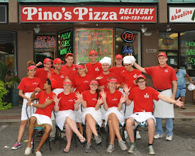 Photo: Part of 2013`s Pino`s Pizza crew at 81street Ocean City Maryland USA