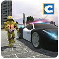 Turtle Hero Police Car Theft APK