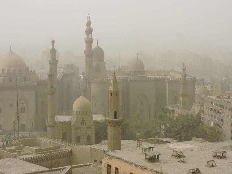 Вид на мусульманский квартал с цитадели