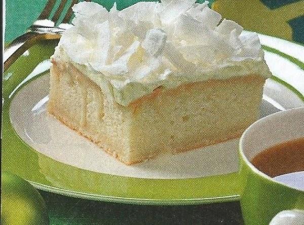 Coconut Cream Cake Recipe