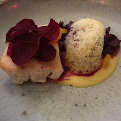 Tilefish with winter beets
