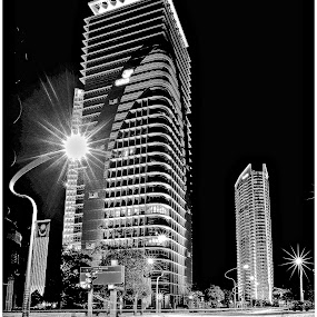 night shot by Tuty Ctramlah - Buildings & Architecture Architectural Detail
