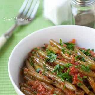 Fasolakia (Green Bean Stew) Recipe
