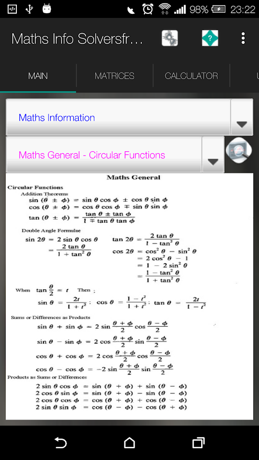 MathsMate Solvers Pro- screenshot