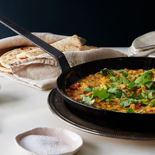 Scrambled Eggs Patia (Slow-Cooked, Indian-Inspired Scrambled Eggs).
