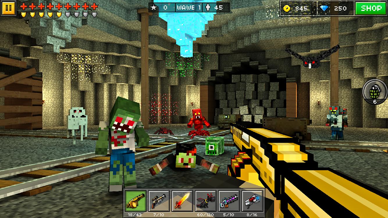 download pixel gun world