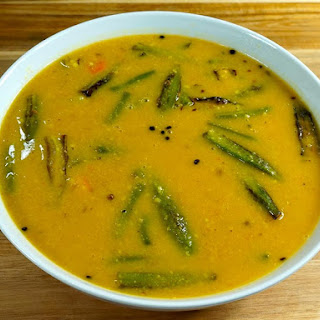 Sindhi Kadhi (Vegetable in Gram Flour Gravy)