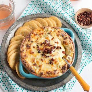 Creamy Bacon-Broccoli Cheese Dip.
