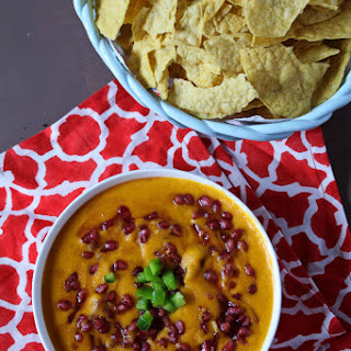 Smoked Cheddar and Pomegranate Beer Dip.