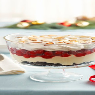 Cherry-Almond Trifle