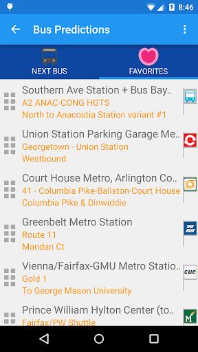 DC Metro Transit Info - Free screenshot 7