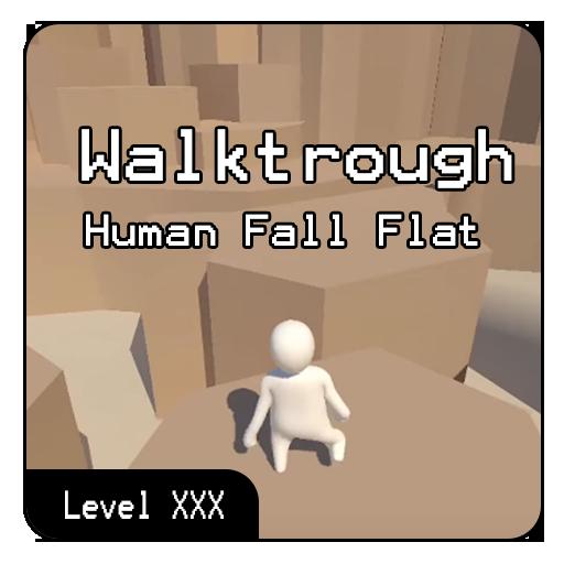 All Level Walktrough Human Fall : Flat Update 2020