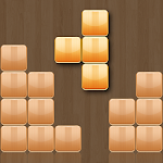 Wood Block Blitz Puzzle Icon