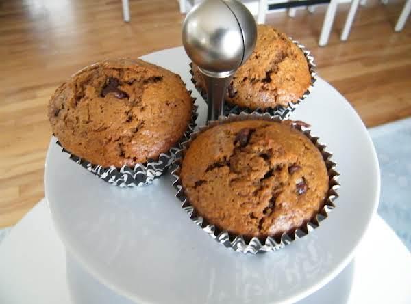Coffee Chocolate Chip Muffins