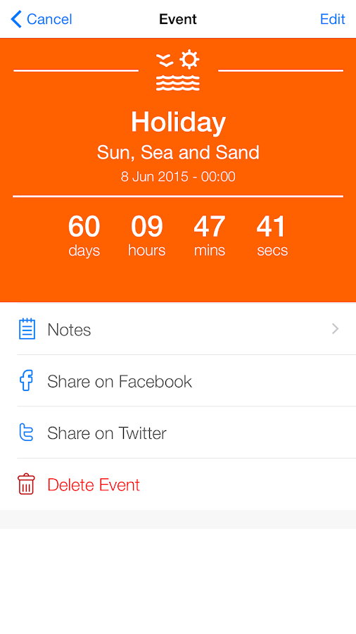Event Countdown Free Timer App Android Apps On Google Play