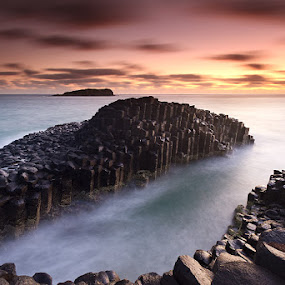 The Giant's Causeway by Jason Asher - Landscapes Waterscapes