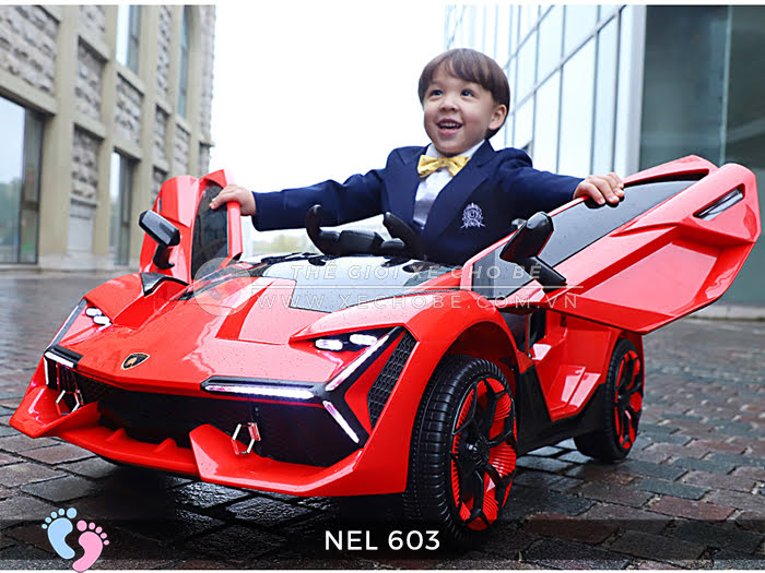 xe ô tô điện trẻ em Lamborghini NEL-603 2