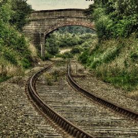 by Pat Somers - Transportation Railway Tracks