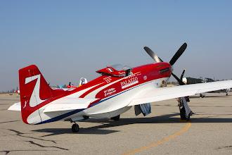 Photo: Rozpětí křídla a výškovky je zmenšeno. Motor má výkon zhruba 3600 koní.
