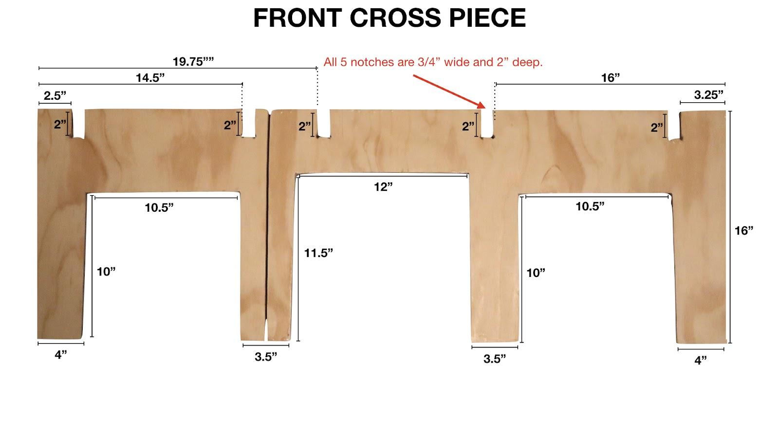 Front Cross Piece