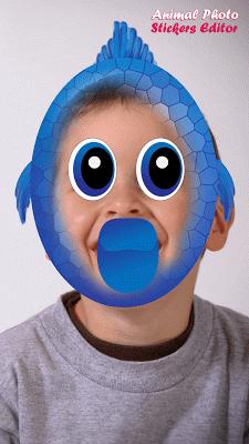 Animal Photo Stickers Editor - screenshot