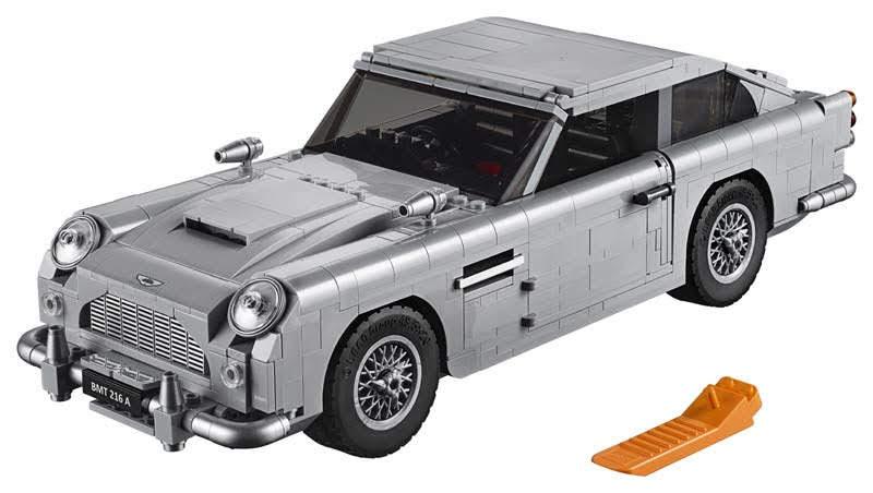 Contenido de Lego® 10262 James Bond Aston Martin DB5
