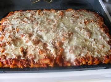 Mamma Maria's Baked Ziti (Pasta al Forno)