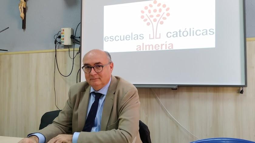 Carlos Ruiz,  secretario autonómico de la patronal de Escuelas Católicas de Andalucía
