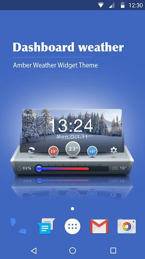 Dash Clock Widget for Android  screenshots 1