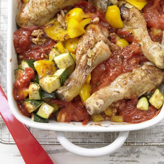 Chicken Legs with Tomatoes.