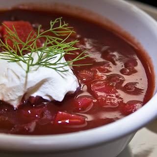 The Hirshon Ukrainian-style Borscht