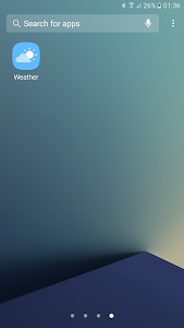Weather Launcher for Galaxy screenshot 1