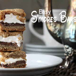 Easy S'mores Bars Cookie