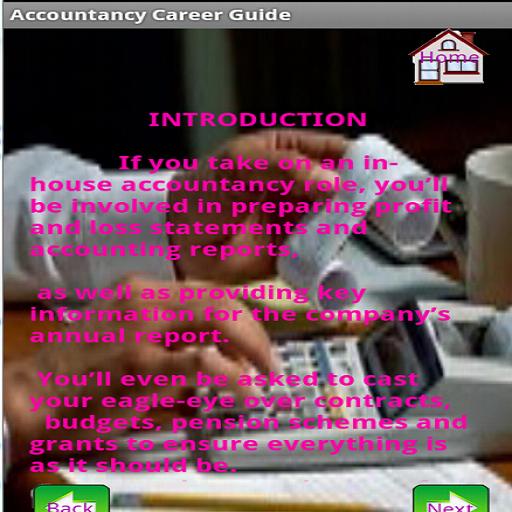 Accountancy Career Guide 2.4.1 screenshots 4