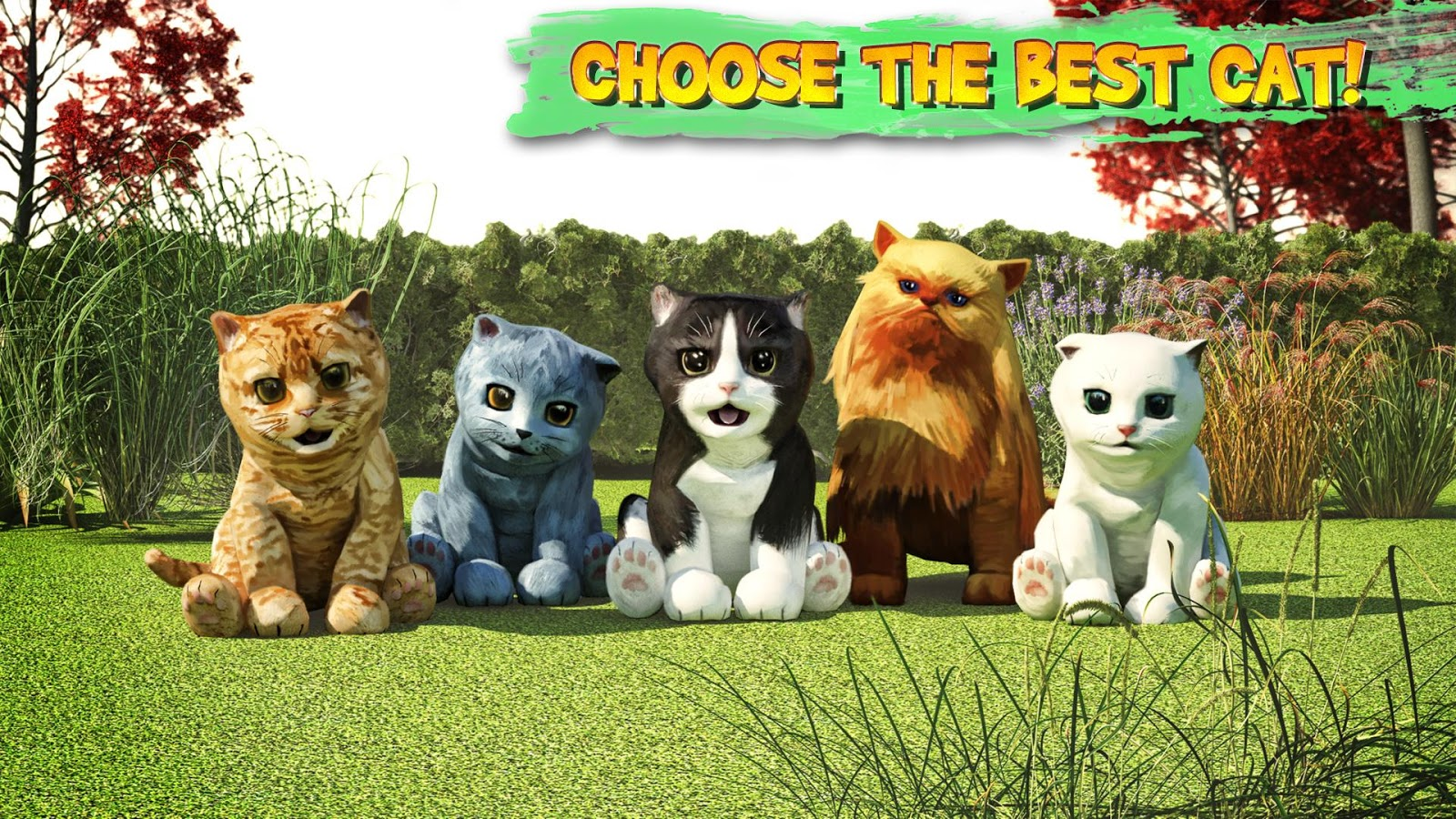 Farm Game On Android With Cats