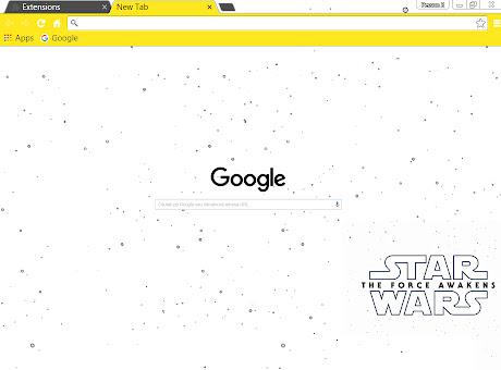 Star Wars VII: The Force Awakens - Light Logo