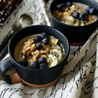 Banana Bread Overnight Oats.