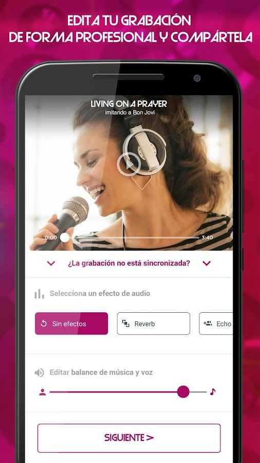 Tu Cara Me Suena by RedKaraoke- screenshot