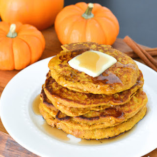 Pumpkin Spice Oatmeal Pancakes Recipes