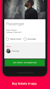 Songkick Concerts screenshot 4