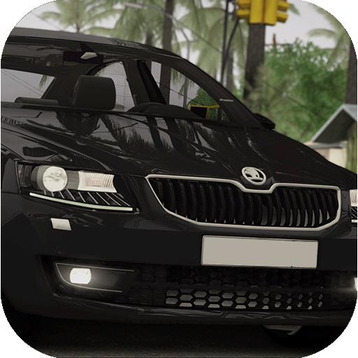 Car Driving Simulator Skoda