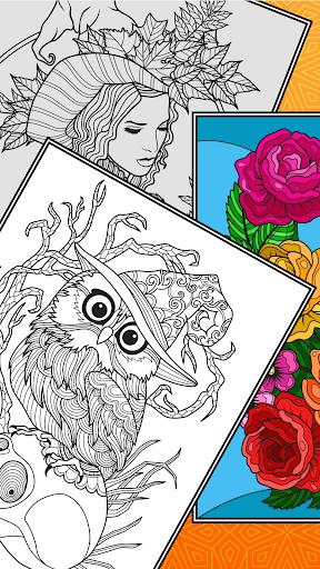 Télécharger Gratuit ColorSky: livre de coloriage anti-stress gratuit mod apk screenshots 4