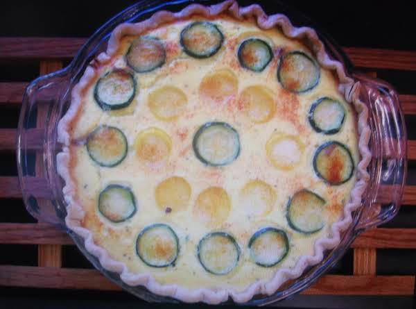 Yellow Squash Pie By Eddie