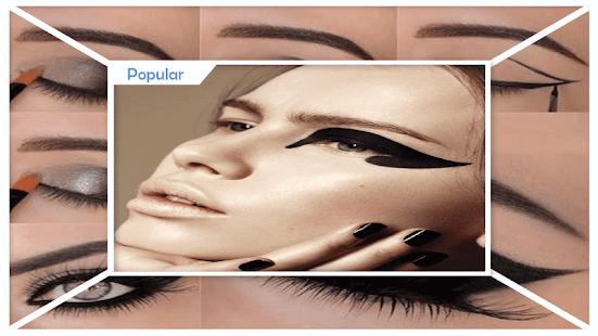 Smokey Cat Eyes Makeup - náhled