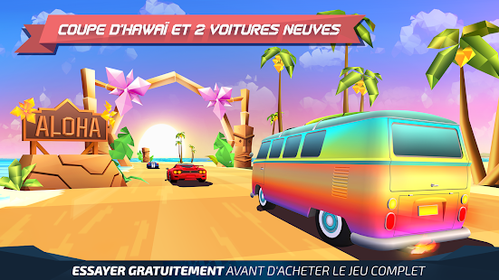 Horizon Chase - World Tour Capture d'écran
