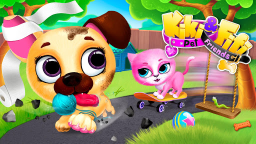 Kiki & Fifi Pet Friends - Virtual Cat & Dog Care 4.0.93 screenshots 9
