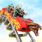 Roller Coaster Theme Park Ride