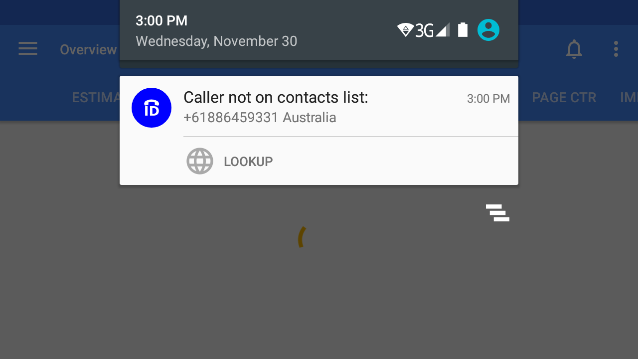 Identify the Unknown Caller- screenshot