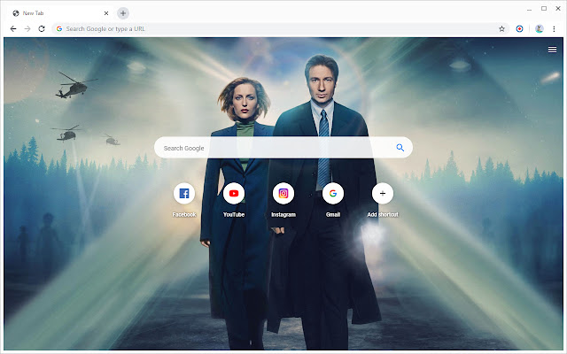 New Tab - The X Files